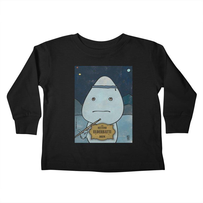 ULDERBATTI_Drum Kids Toddler Longsleeve T-Shirt by ZEROSTILE'S ARTIST SHOP