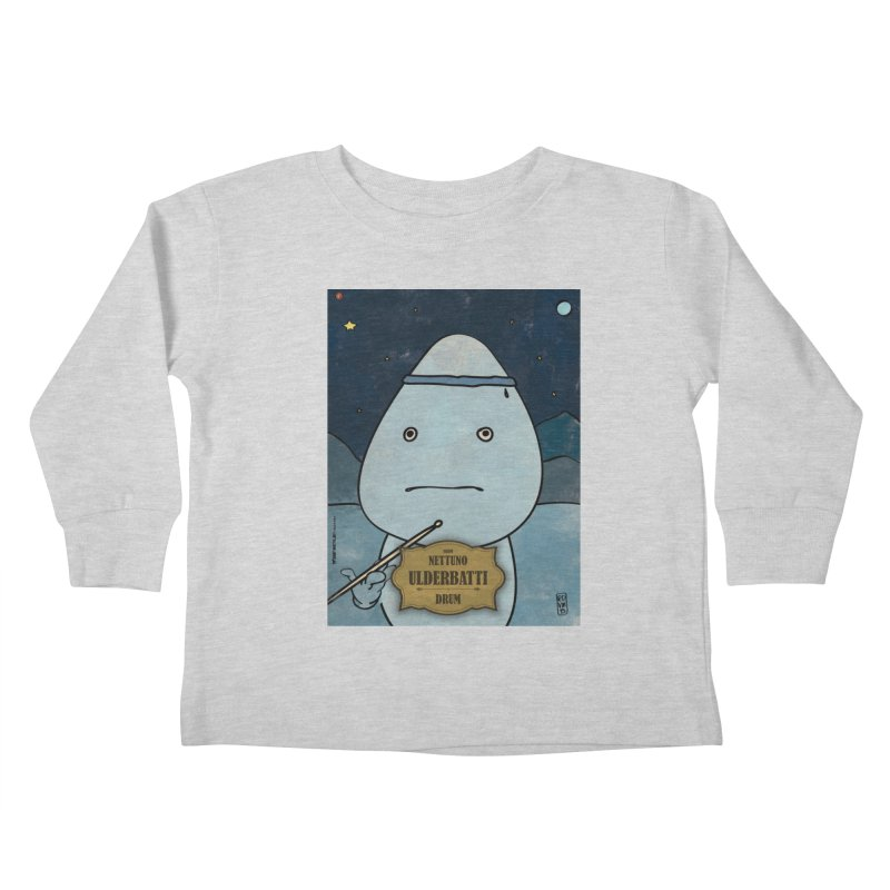 ULDERBATTI_Drum Kids Toddler Longsleeve T-Shirt by ZEROSTILE'S ARTIST SHOP