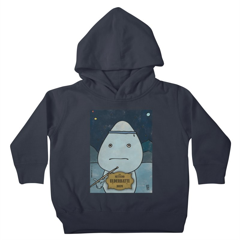 ULDERBATTI_Drum Kids Toddler Pullover Hoody by ZEROSTILE'S ARTIST SHOP