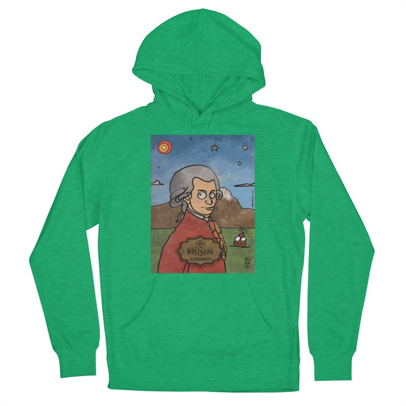 WOLFGANG_Clavincembalo Men's Pullover Hoody by ZEROSTILE'S ARTIST SHOP
