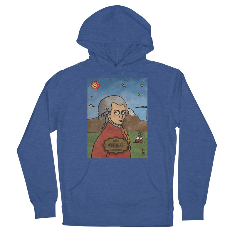 WOLFGANG_Clavincembalo Women's Pullover Hoody by ZEROSTILE'S ARTIST SHOP