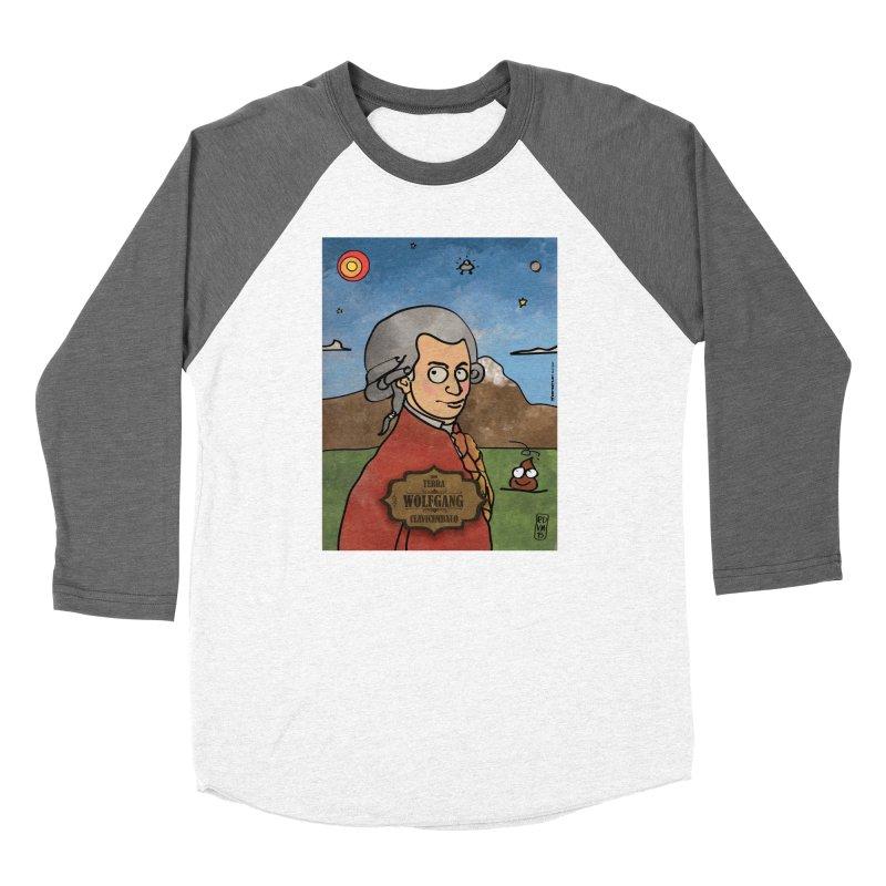 WOLFGANG_Clavincembalo Women's Longsleeve T-Shirt by ZEROSTILE'S ARTIST SHOP