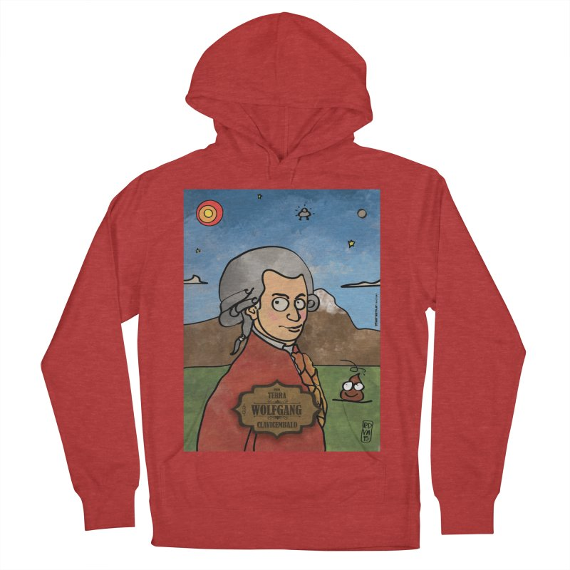 WOLFGANG_Clavincembalo Women's French Terry Pullover Hoody by ZEROSTILE'S ARTIST SHOP