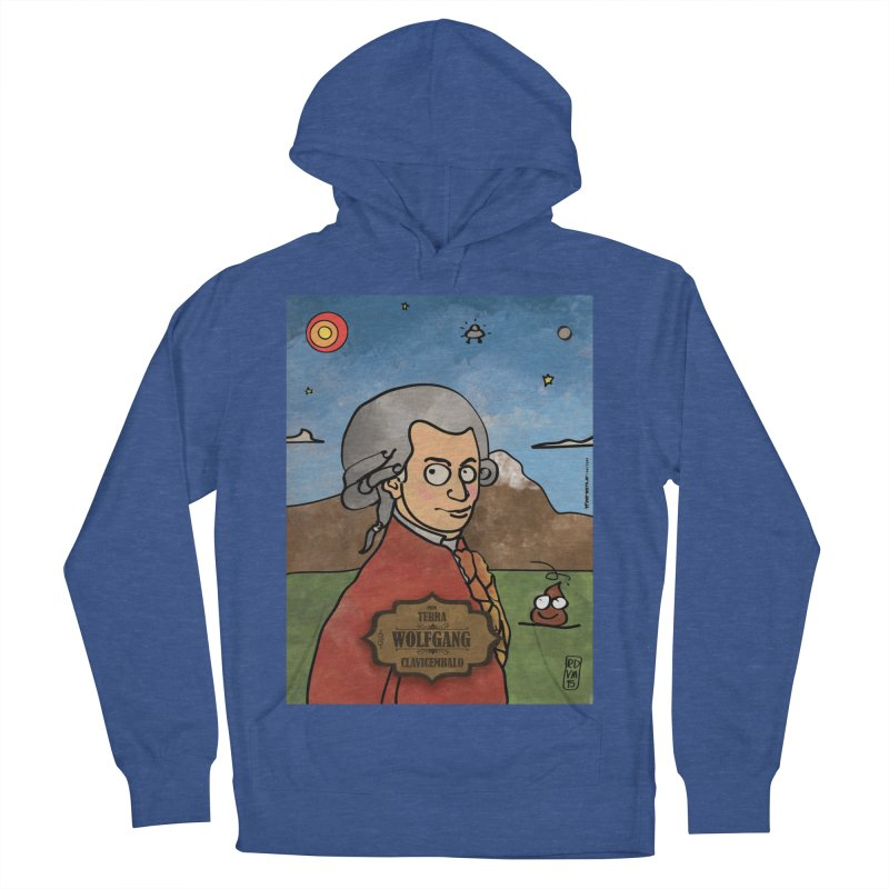 WOLFGANG_Clavincembalo Men's French Terry Pullover Hoody by ZEROSTILE'S ARTIST SHOP