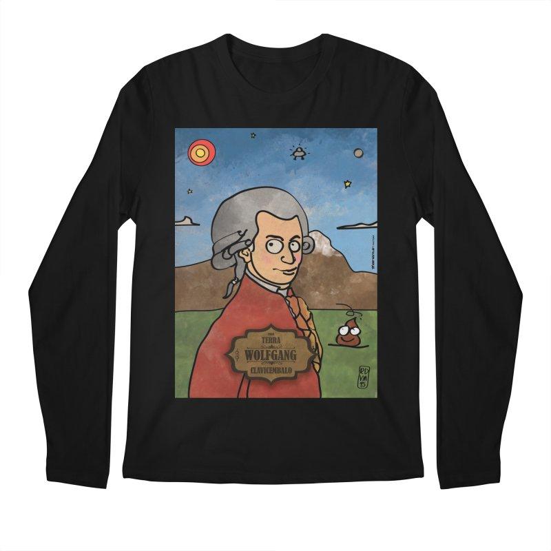 WOLFGANG_Clavincembalo Men's Regular Longsleeve T-Shirt by ZEROSTILE'S ARTIST SHOP
