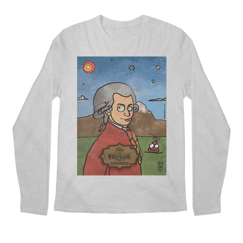 WOLFGANG_Clavincembalo Men's Longsleeve T-Shirt by ZEROSTILE'S ARTIST SHOP