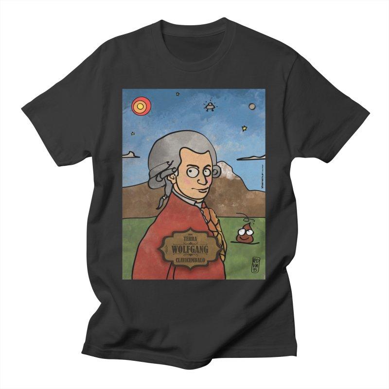 WOLFGANG_Clavincembalo Men's T-Shirt by ZEROSTILE'S ARTIST SHOP