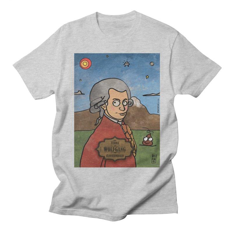 WOLFGANG_Clavincembalo Men's Regular T-Shirt by ZEROSTILE'S ARTIST SHOP