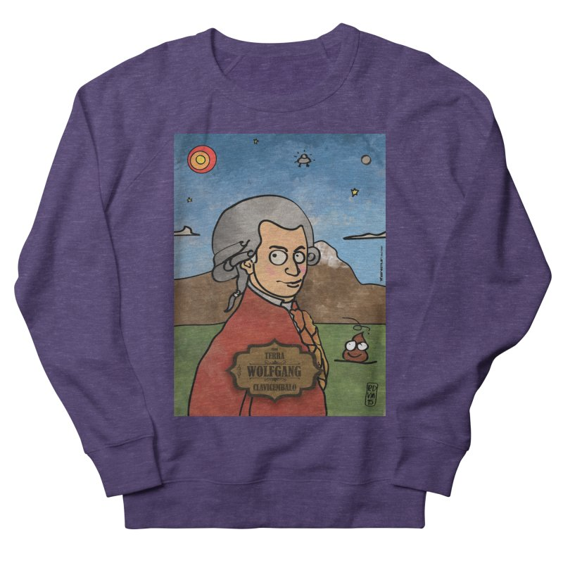 WOLFGANG_Clavincembalo Women's French Terry Sweatshirt by ZEROSTILE'S ARTIST SHOP