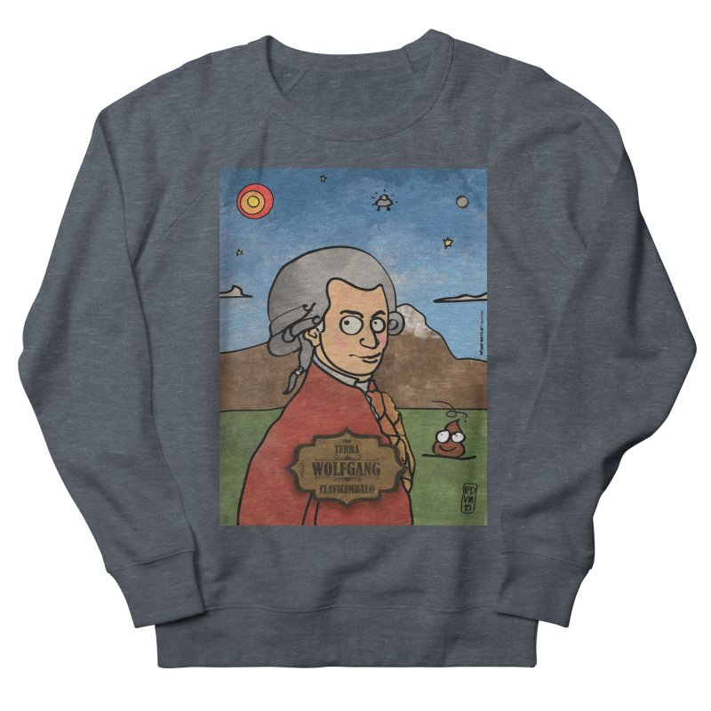 WOLFGANG_Clavincembalo Men's French Terry Sweatshirt by ZEROSTILE'S ARTIST SHOP