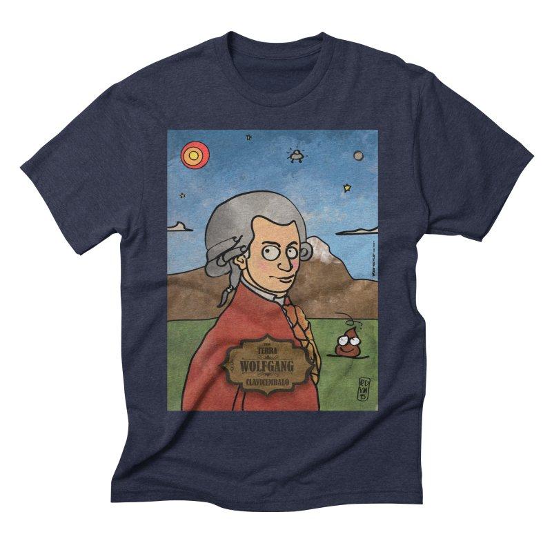 WOLFGANG_Clavincembalo Men's Triblend T-Shirt by ZEROSTILE'S ARTIST SHOP