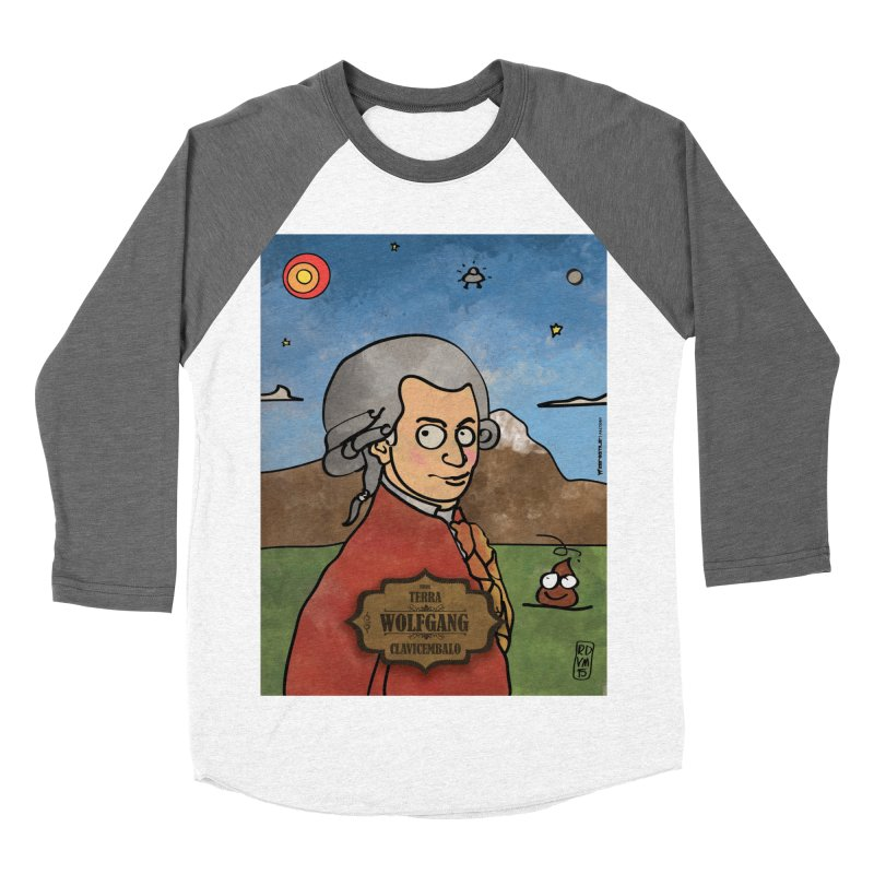 WOLFGANG_Clavincembalo Women's Baseball Triblend Longsleeve T-Shirt by ZEROSTILE'S ARTIST SHOP