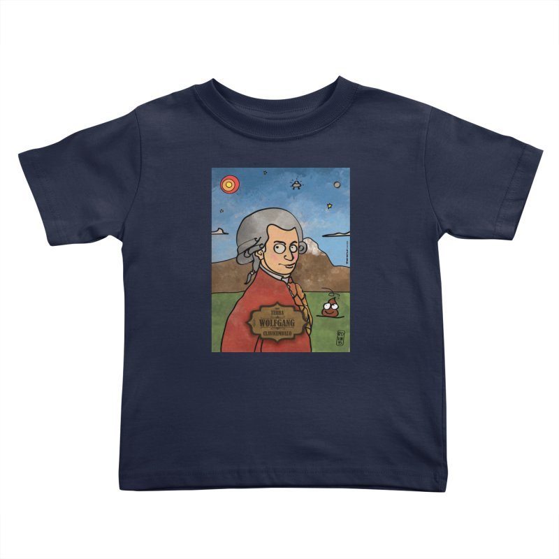WOLFGANG_Clavincembalo Kids Toddler T-Shirt by ZEROSTILE'S ARTIST SHOP