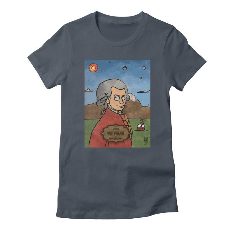 WOLFGANG_Clavincembalo Women's T-Shirt by ZEROSTILE'S ARTIST SHOP