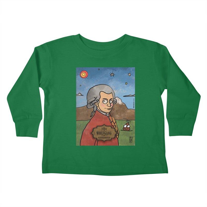 WOLFGANG_Clavincembalo Kids Toddler Longsleeve T-Shirt by ZEROSTILE'S ARTIST SHOP