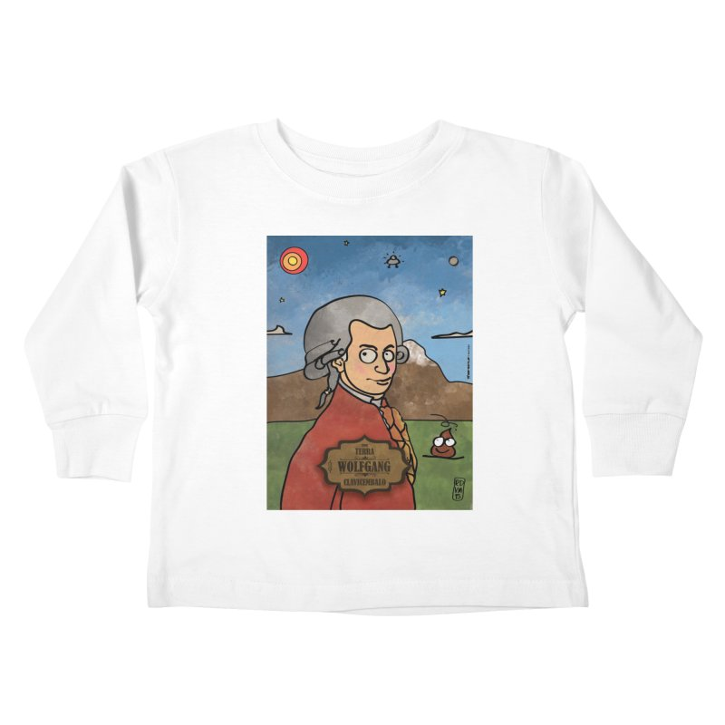 WOLFGANG_Clavincembalo Kids Toddler Longsleeve T-Shirt by ZEROSTILE'S ARTIST SHOP