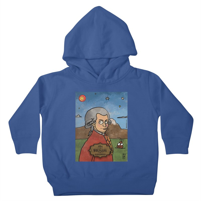 WOLFGANG_Clavincembalo Kids Toddler Pullover Hoody by ZEROSTILE'S ARTIST SHOP