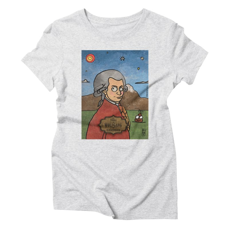 WOLFGANG_Clavincembalo Women's T-Shirt by ZEROSTILE'S ARTIST SHOP