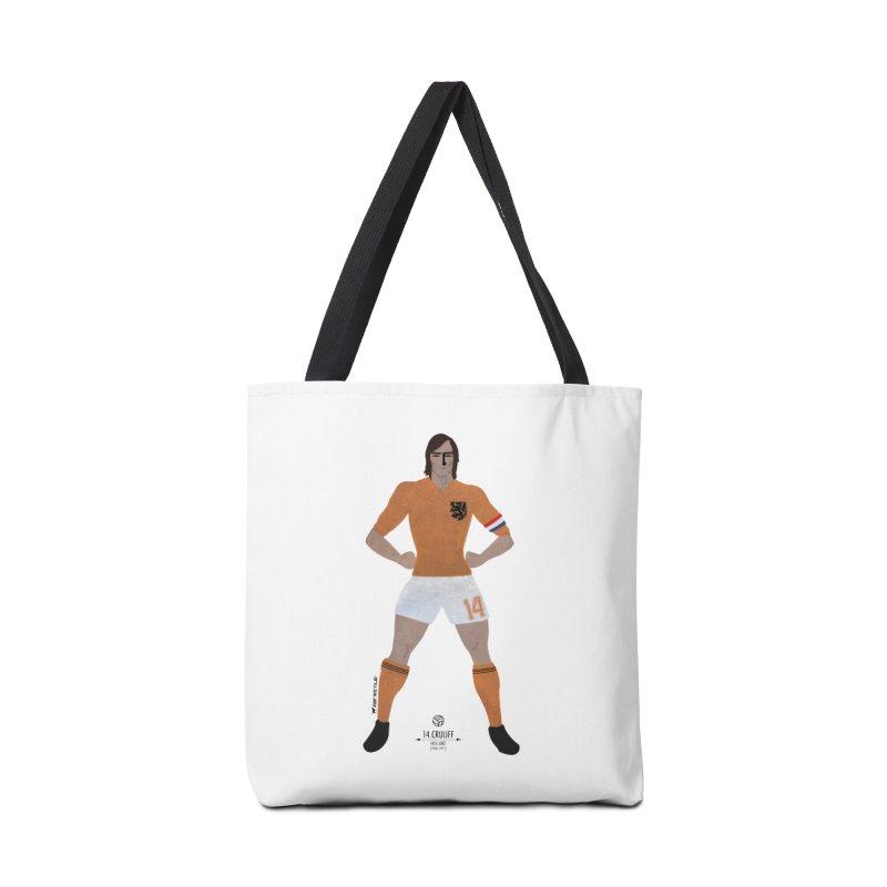Cruijff My Hero in Tote Bag by ZEROSTILE'S ARTIST SHOP