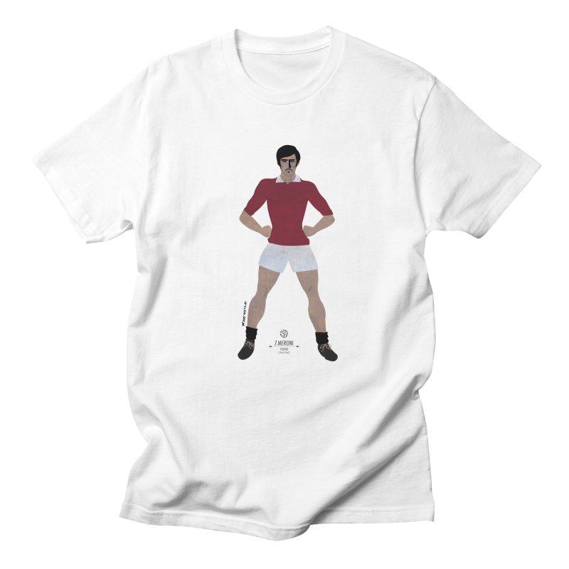 Meroni My Hero in Men's T-Shirt White by ZEROSTILE'S ARTIST SHOP