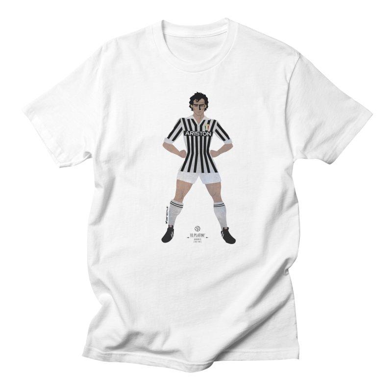 Platini My Hero in Men's T-Shirt White by ZEROSTILE'S ARTIST SHOP