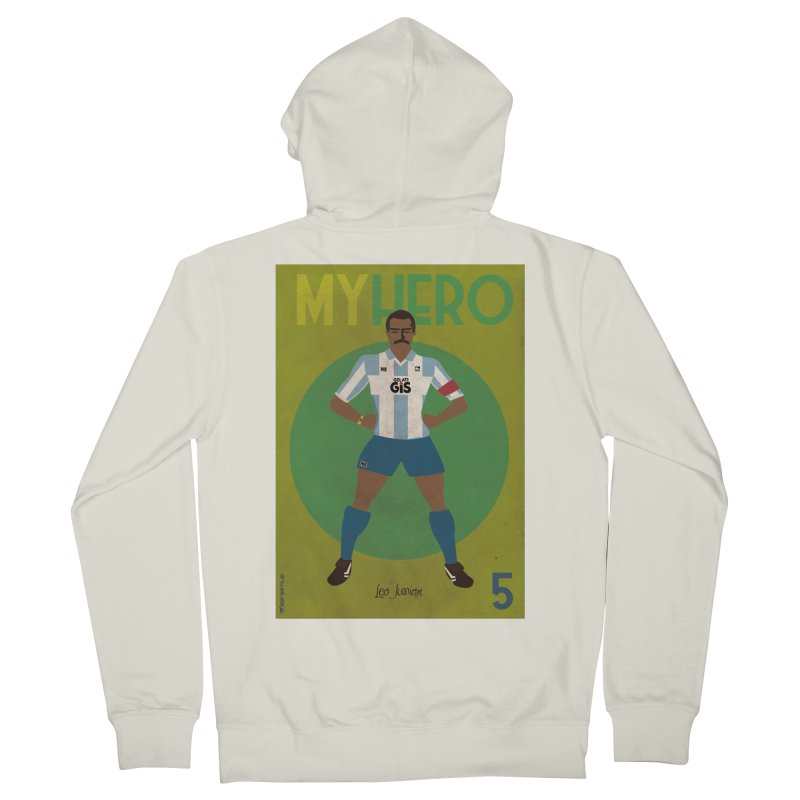 Leo Junior My Hero Vintage Edition Women's Zip-Up Hoody by ZEROSTILE'S ARTIST SHOP