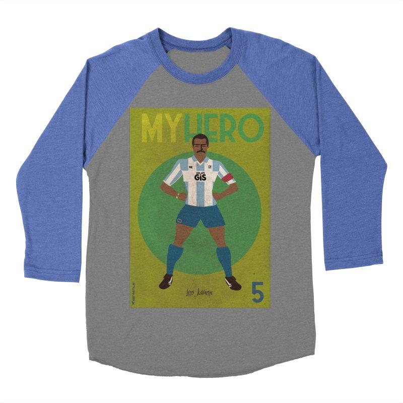 Leo Junior My Hero Vintage Edition Women's Baseball Triblend T-Shirt by ZEROSTILE'S ARTIST SHOP