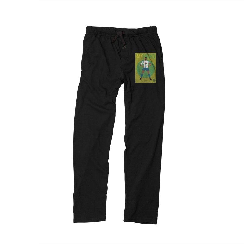 Leo Junior My Hero Vintage Edition Men's Lounge Pants by ZEROSTILE'S ARTIST SHOP