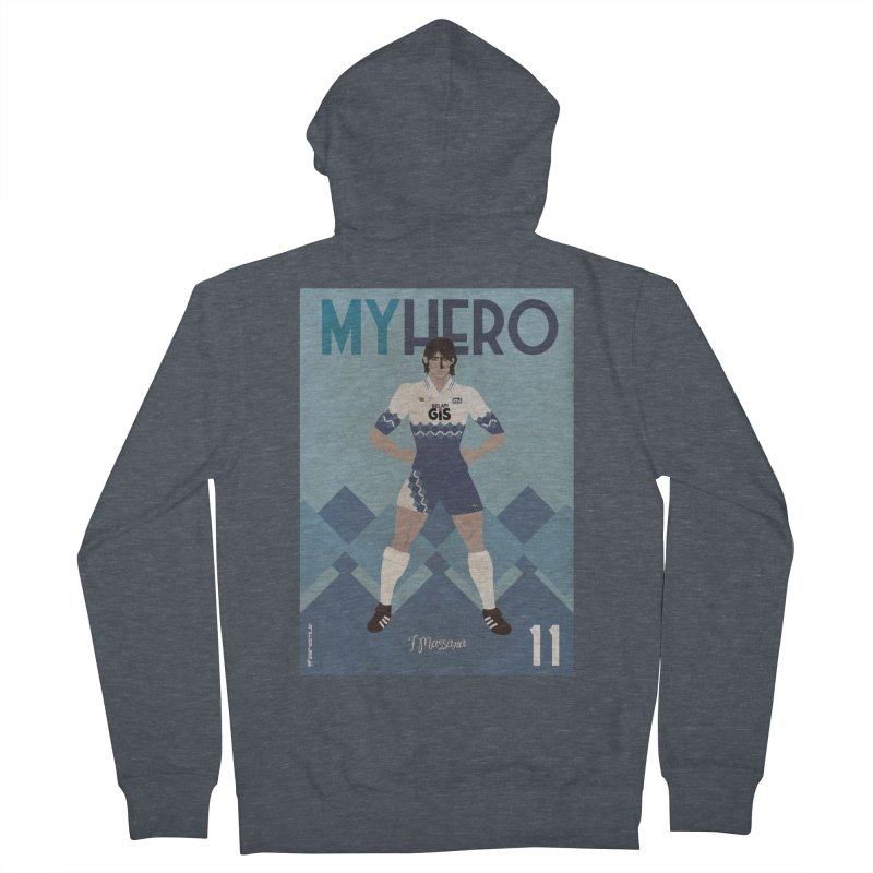 Massara My Hero Vintage Edition Women's Zip-Up Hoody by ZEROSTILE'S ARTIST SHOP