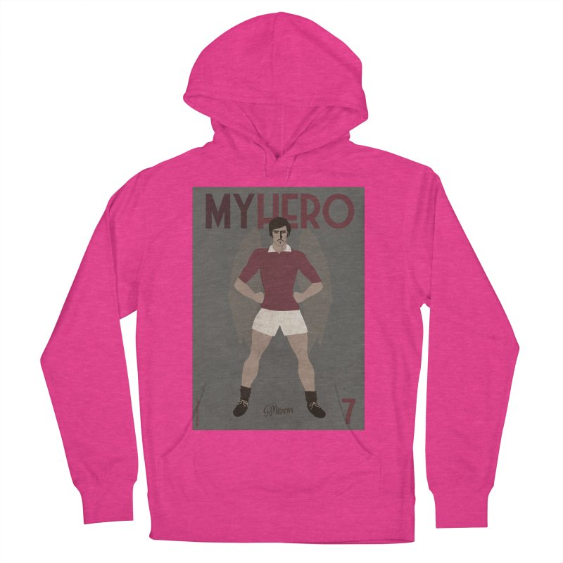 Meroni My Hero Vintage Edition Women's Pullover Hoody by ZEROSTILE'S ARTIST SHOP