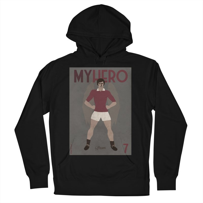 Meroni My Hero Vintage Edition Women's Pullover Hoody by ZEROSTILE'S ARTIST SHOP