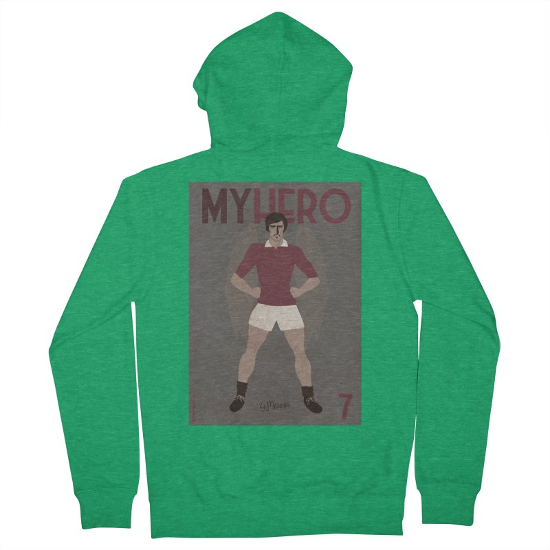 Meroni My Hero Vintage Edition Women's Zip-Up Hoody by ZEROSTILE'S ARTIST SHOP