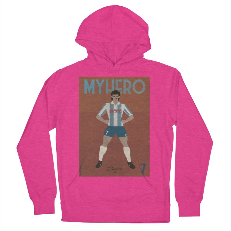 Pagano My Hero Vintage Edition Women's Pullover Hoody by ZEROSTILE'S ARTIST SHOP