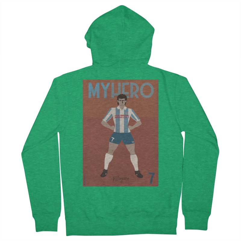 Pagano My Hero Vintage Edition Women's Zip-Up Hoody by ZEROSTILE'S ARTIST SHOP