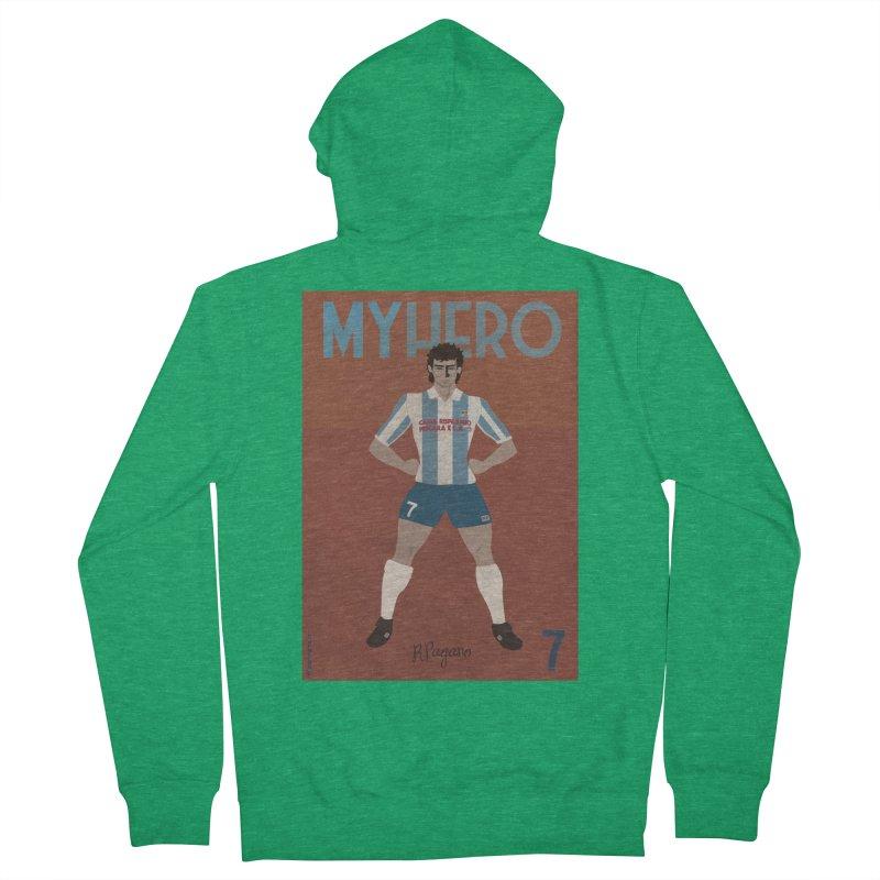 Pagano My Hero Vintage Edition Men's Zip-Up Hoody by ZEROSTILE'S ARTIST SHOP