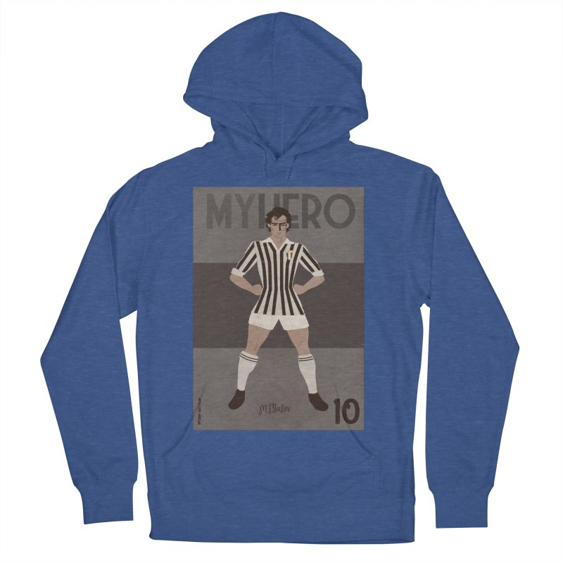 Platini My Hero Vintage Edition Women's Pullover Hoody by ZEROSTILE'S ARTIST SHOP