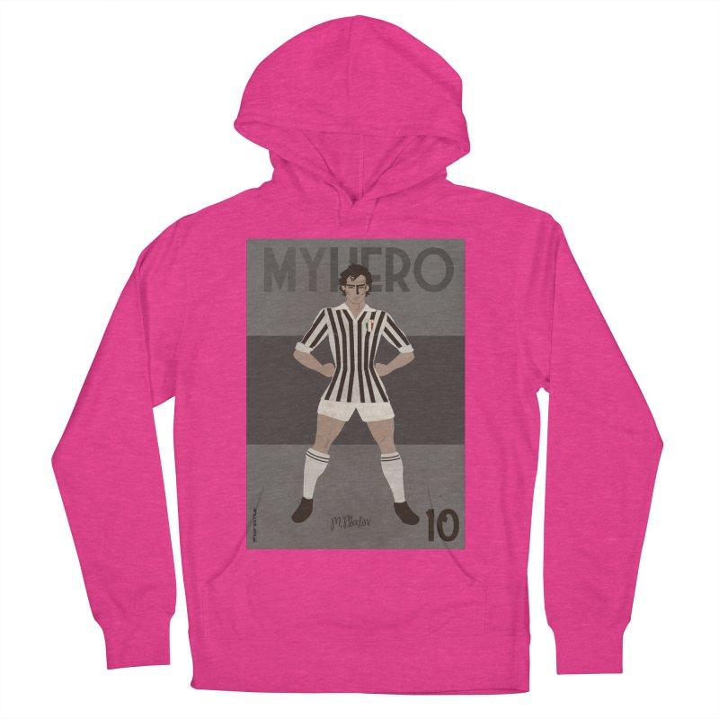 Platini My Hero Vintage Edition Women's Pullover Hoody by ZEROSTILE'S ARTIST SHOP