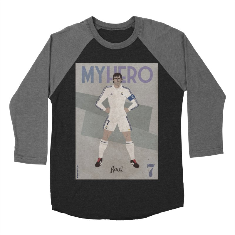 Raul My Hero Vintage Edition Men's Baseball Triblend T-Shirt by ZEROSTILE'S ARTIST SHOP