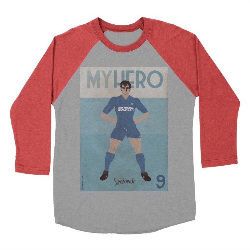 Rebonato My Hero Vintage Edition Women's Baseball Triblend T-Shirt by ZEROSTILE'S ARTIST SHOP