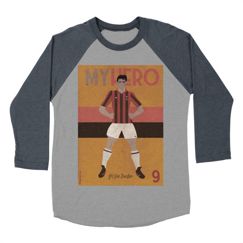 Van Basten My Hero Vintage Edition Women's Baseball Triblend T-Shirt by ZEROSTILE'S ARTIST SHOP
