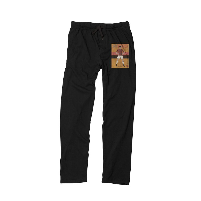 Van Basten My Hero Vintage Edition Women's Lounge Pants by ZEROSTILE'S ARTIST SHOP