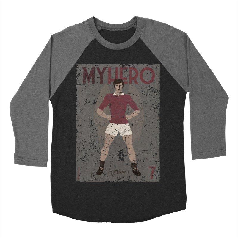 Meroni My Hero Grunge Edt Women's Baseball Triblend T-Shirt by ZEROSTILE'S ARTIST SHOP