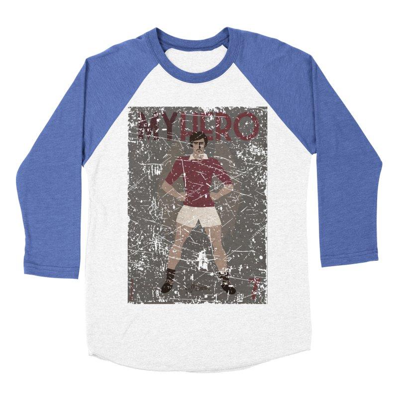 Meroni My Hero Grunge Edt Men's Baseball Triblend T-Shirt by ZEROSTILE'S ARTIST SHOP