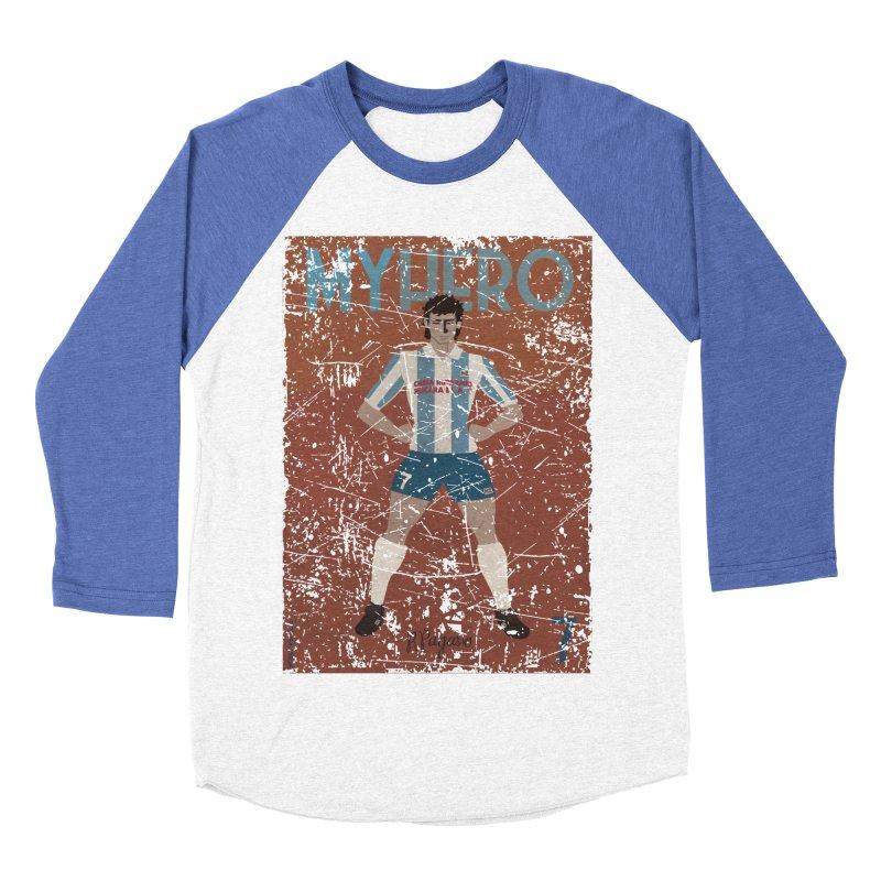 Pagano My Hero Grunge Edt Women's Baseball Triblend T-Shirt by ZEROSTILE'S ARTIST SHOP