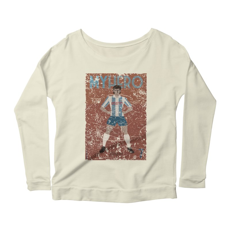 Pagano My Hero Grunge Edt Women's Longsleeve Scoopneck  by ZEROSTILE'S ARTIST SHOP
