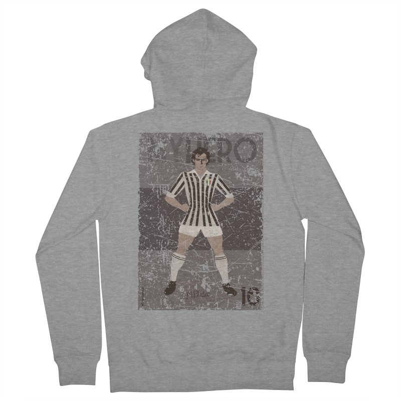 Platini My Hero Grunge Edition Women's Zip-Up Hoody by ZEROSTILE'S ARTIST SHOP