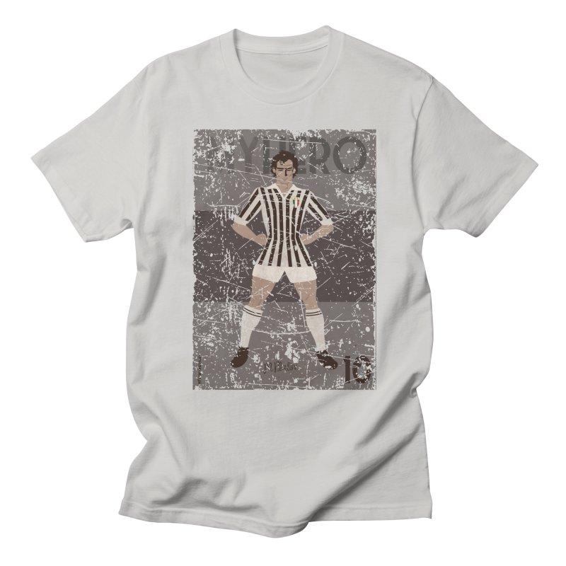 Platini My Hero Grunge Edition Men's T-shirt by ZEROSTILE'S ARTIST SHOP