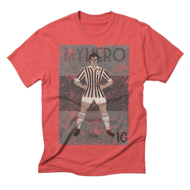 Platini My Hero Grunge Edition Men's Triblend T-shirt by ZEROSTILE'S ARTIST SHOP