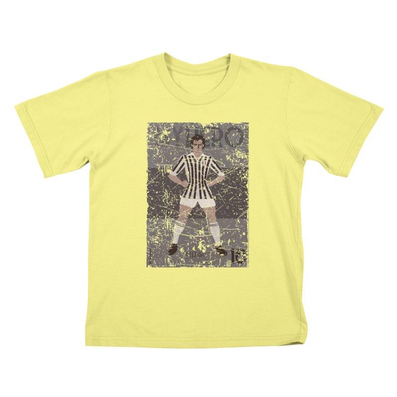 Platini My Hero Grunge Edition Kids T-shirt by ZEROSTILE'S ARTIST SHOP