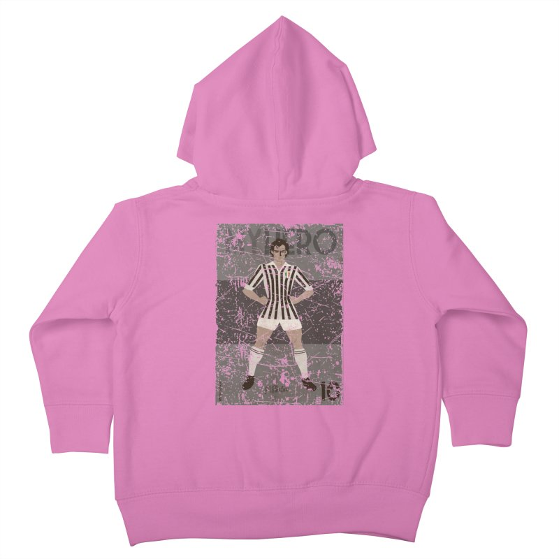 Platini My Hero Grunge Edition Kids Toddler Zip-Up Hoody by ZEROSTILE'S ARTIST SHOP
